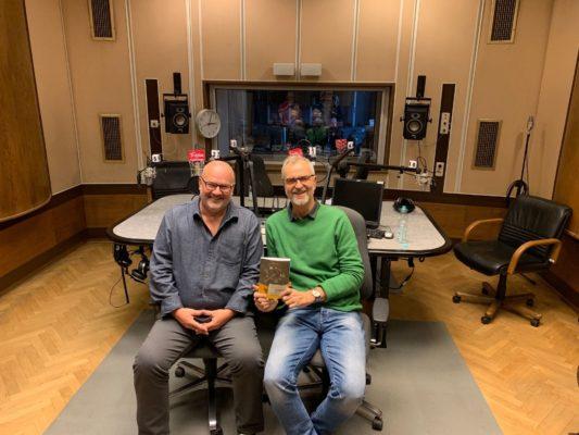 Daniel Hunziker i Dariusz Bugalski w radiowej Trójce.