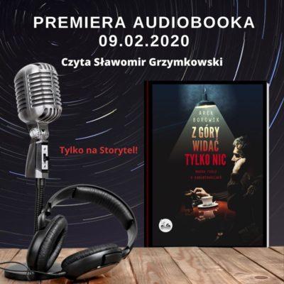 """Audiobook """"Z góry widać tylko nic"""""""