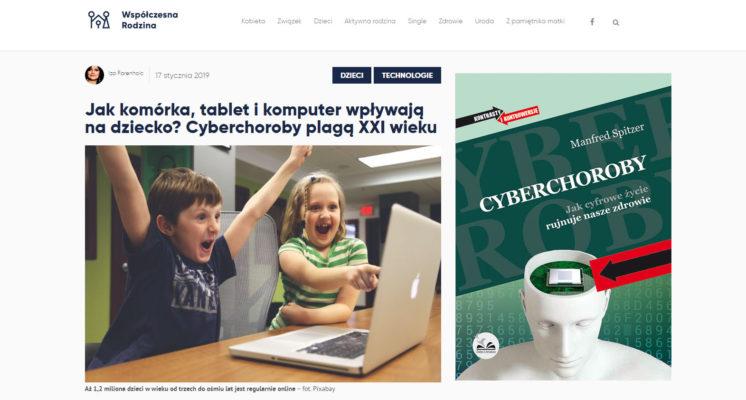 Cyberchoroby - Współczesna Rodzina